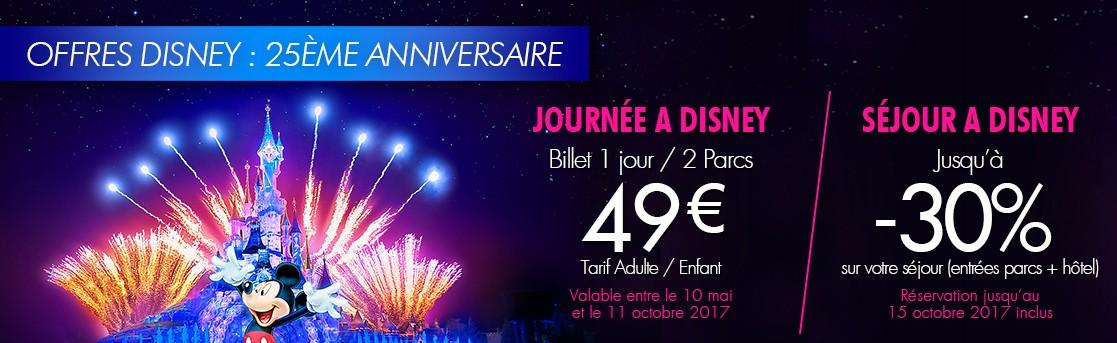 Offres Spéciales Disneyland Paris