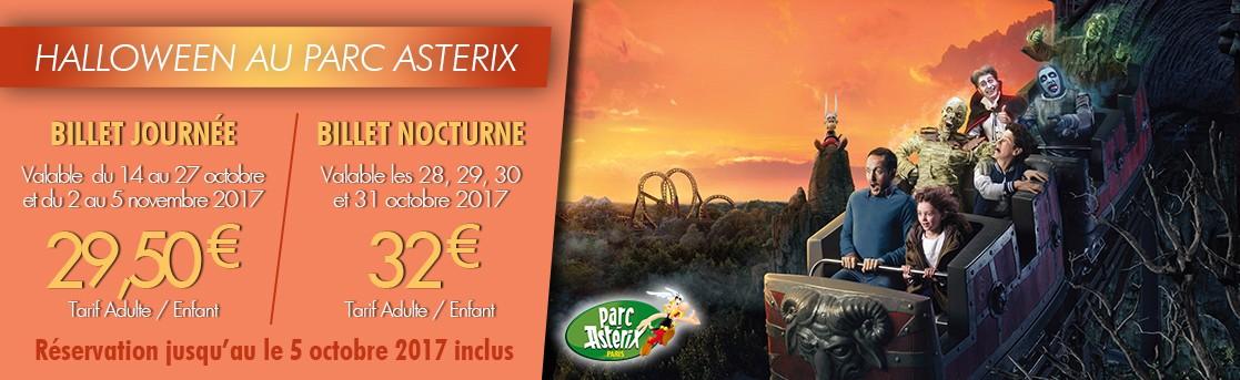 Halloween au parc Asterix