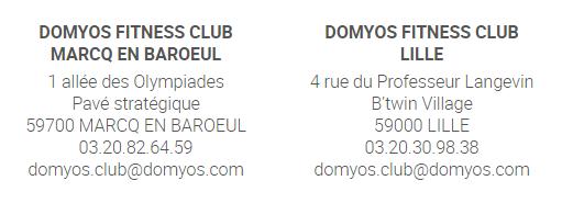 Les clubs Domyos
