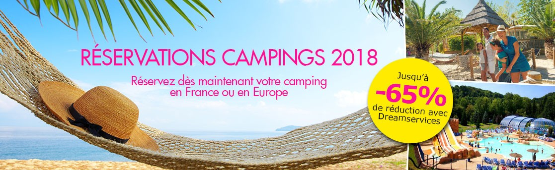 Ouverture campings 2018