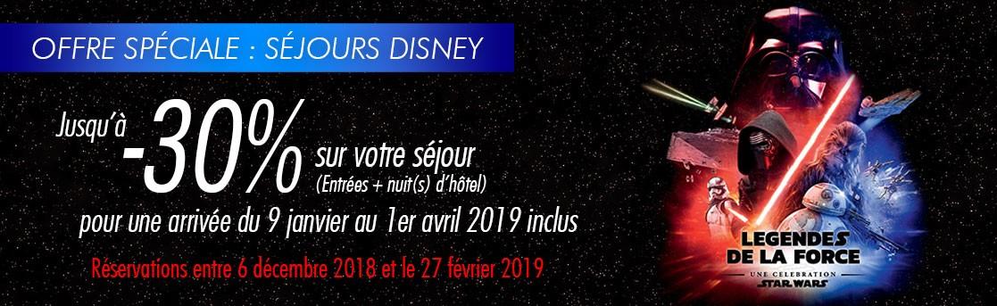 Séjours Disney -30%